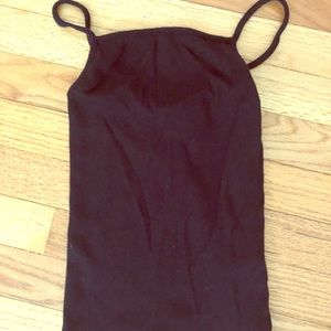 Black forever 21 tank top (mid length)